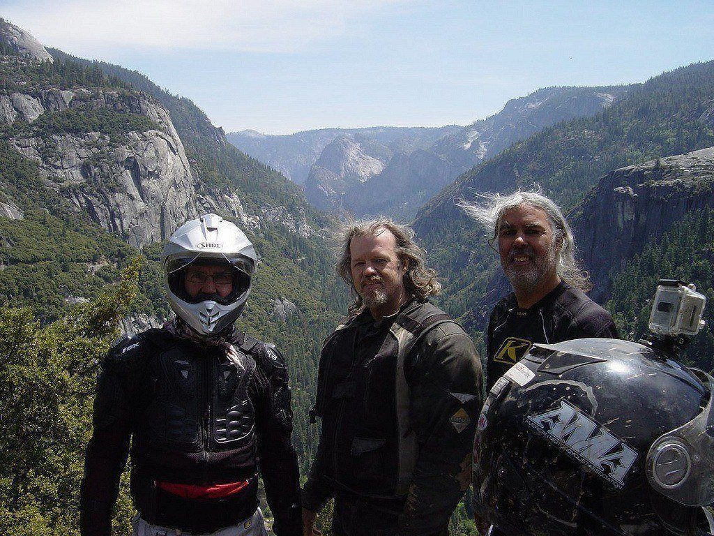 Dave Peterson - Yosemite Adventure Tour Ride Report