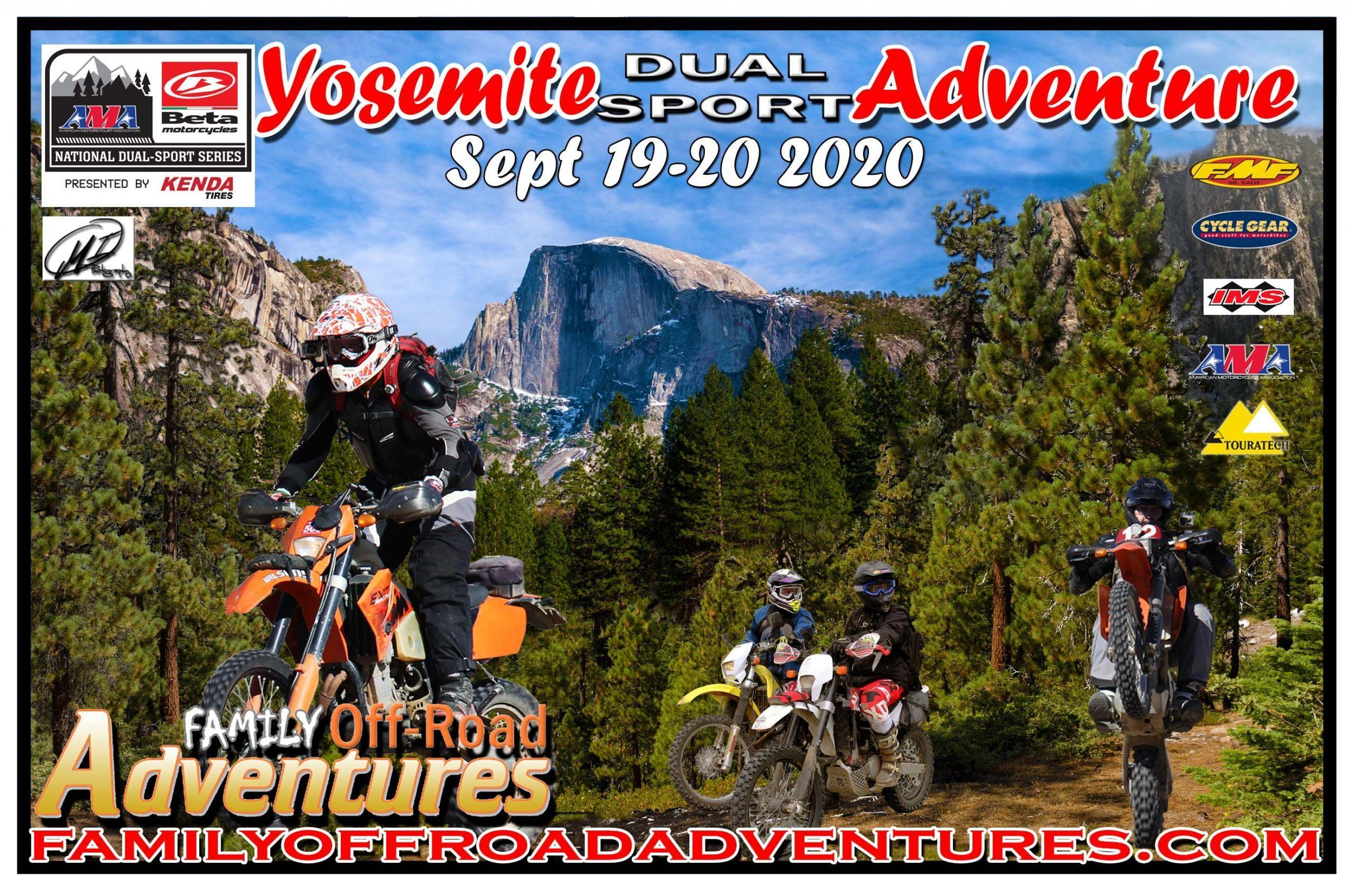 Yosemite Dual Sport Adventure - Web